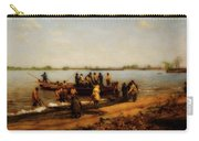 Shad Fishing On The Delaware River Carry-all Pouch
