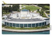 Shedd Aquarium In Chicago Aerial Photo Carry-all Pouch