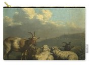 Sheep And Goats Carry-all Pouch