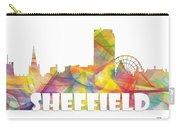 Sheffield England Skyline Carry-all Pouch