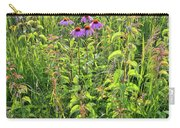 Shelley Kelly Prairie Wildflowers Carry-all Pouch