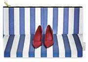 Shoes In A Beach Chair Carry-all Pouch