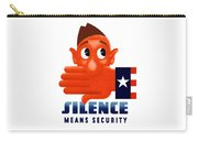 Silence Means Security Carry-all Pouch