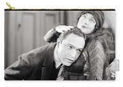 Silent Film Still: Couples Carry-all Pouch