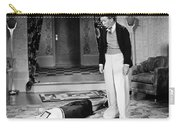 Silent Film Still: Fainting Carry-all Pouch by Granger