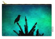Silhouette Blues Carry-all Pouch