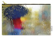 Silhouette In The Rain Carry-all Pouch by Carlos Caetano