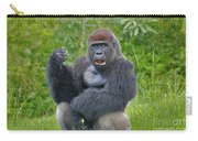 1- Silverback Western Lowland Gorilla  Carry-all Pouch