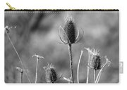 Simply Thistle Carry-all Pouch by Rick Morgan
