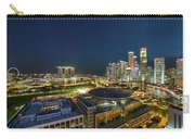 Singapore Cityscape At Night Carry-all Pouch