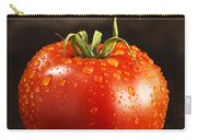 Single Fresh Tomato With Dew Drops Carry-all Pouch
