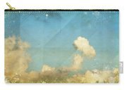Sky And Cloud On Old Grunge Paper Carry-all Pouch by Setsiri Silapasuwanchai