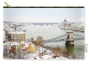 skyline  of  Budapest, Hungary Carry-all Pouch