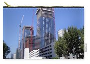 skyscraper construction in Downtown Los Angeles... Carry-all Pouch
