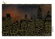 Skyscrapers - Panorama Of Modern Skyscraper Town Carry-all Pouch