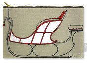 Sleigh, 19th Century Carry-all Pouch