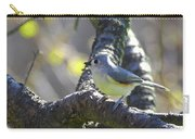 Tufted Titmouse - Small Bird Carry-all Pouch