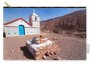 Small Chapel In Atacama Desert Carry-all Pouch