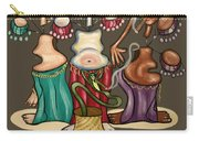 Smoking Belly Dancers Carry-all Pouch