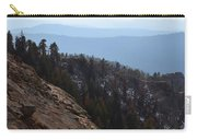 Smoky Evening Vista Over Kings Canyon Carry-all Pouch