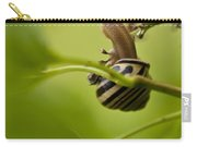Snail Stretching Carry-all Pouch