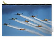 Snj  T-6 Texan And Canadian Harvard Aerobatic Team Carry-all Pouch