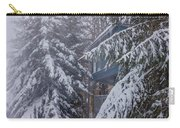 Snow Covered Trees In The North Carolina Mountains During Winter Carry-all Pouch
