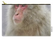 Snow-dusted Monkey Carry-all Pouch