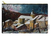 Snow In Chassepierre Carry-all Pouch