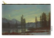 Snow In The Rockies Carry-all Pouch