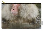 Snow Monkey Bath Carry-all Pouch