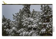 Snowy Trees Carry-all Pouch