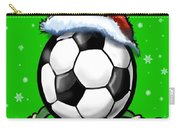 Soccer Christmas Carry-all Pouch