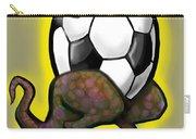 Soccer Saurus Rex Carry-all Pouch