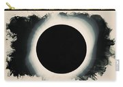 Solar Eclipse 2017 Watercolor Carry-all Pouch