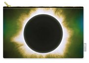 Solar Eclipse In Infrared Carry-all Pouch