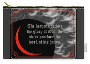 Solar Eclipse Reflections 3 Carry-all Pouch