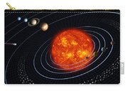 Solar System Carry-all Pouch by Stocktrek Images