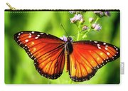 Soldier Butterfly Carry-all Pouch
