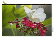 Southern White Butterfly  Carry-all Pouch