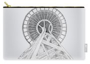 Space Needle- Looking Up Carry-all Pouch