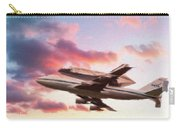 Space Shuttle Discovery Flies Off Into Retirement Carry-all Pouch
