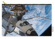 Space Shuttle Endeavour, Docked Carry-all Pouch