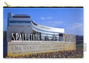 Spallation Neutron Source Carry-all Pouch
