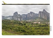 Spectacular Meteora Rock Formations Carry-all Pouch