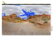 Spherical Panorama From A Canyon Charyn Carry-all Pouch