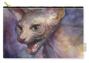 Sphynx Cat Painting Carry-all Pouch
