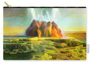 Spitting-fly Geyser In Nevada Carry-all Pouch