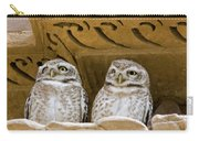 Spotted Owlets Carry-all Pouch