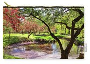 Spring At Tappan Park Pond Carry-all Pouch